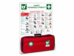 First Aid Post (large) with AED pocket